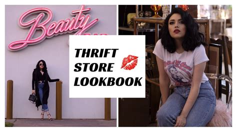 Look Book Gets A Book by Thrift Store Vintage Lookbook 2017