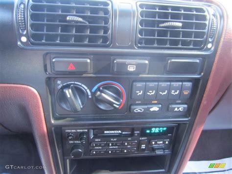 1991 honda accord lx sedan controls photos gtcarlot
