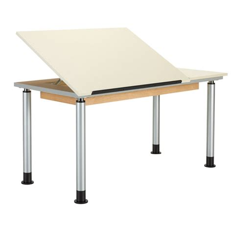Split Drafting Table Split Top Drawing Tables Schoolsin