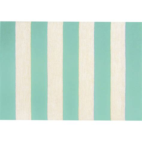 aqua outdoor rug rugby stripe aquaindoor outdoor rug