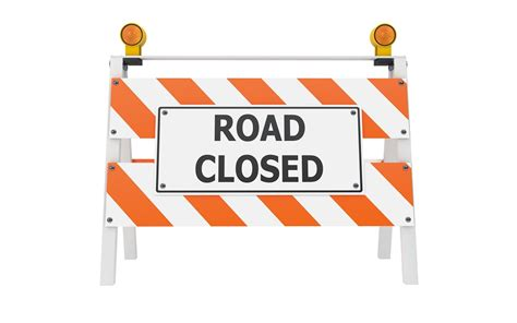 printable road closed signs we are still open declaration brewing company