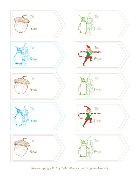softflexgirl free printable winter holiday gift tags printable winter holiday gift tags the inky octopus