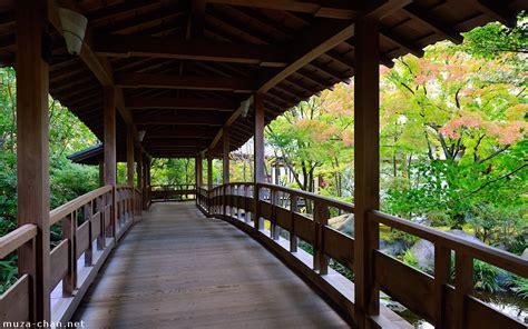 Japanese Traditional Architecture Bridge Corridor Bridge Traditional