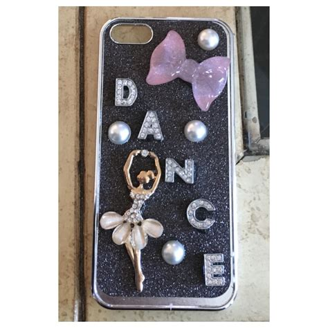 Ballet Rhinestone Cover For Iphone 5c Handmade Import d a n c e custom limited quantities left 183 princess armor 183 store powered by storenvy