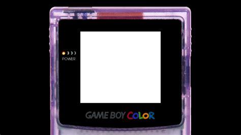 gameboy layout retroarch borders