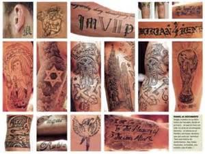 sergio ramos tattoos celebritiestattooed com