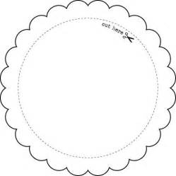 circle gift tag template templates printables collection express yourself diy