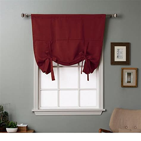 blackout curtains small window thermal insulated blackout balloon curtain for small