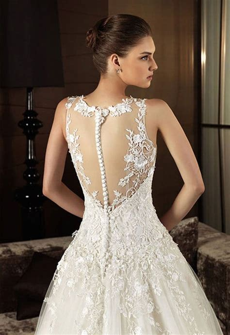 lace back wedding dresses the must wedding dress of the year