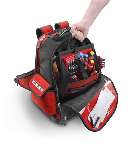 tool bag backpacks facom probag soft tool bag backpack rucksack bs l30 ebay