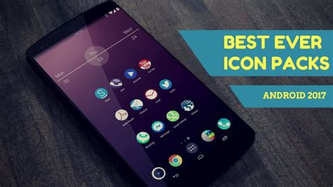best android icon packs top 10 best icon packs for android 2017