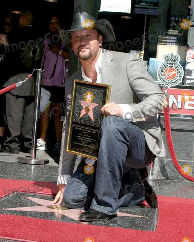 Tim Mcgraw Receives A On The Walk Of Fame by Tim Mcgraw Pictures And Photos