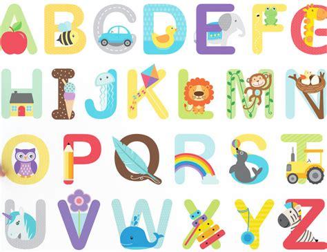 Wall Stiker Alphabet alphabet wall stickers buy abc wall stickers