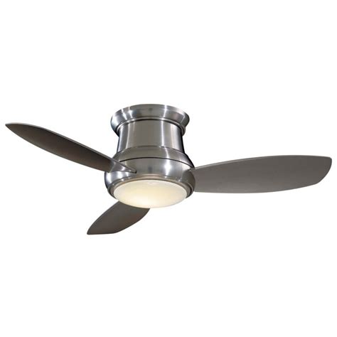 concept ii ceiling fan concept ii flush 44 in ceiling fan minka ceiling fan