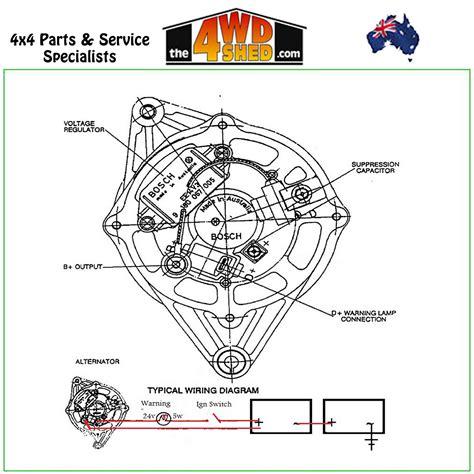 bosch universal alternator wiring diagram wiring diagram