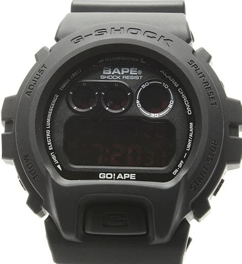 G Shock Dw 6900 bape x casio g shock dw 6900 available now freshness mag