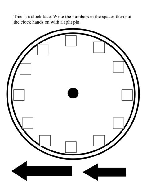 printable clock template 25 best ideas about blank clock on clock
