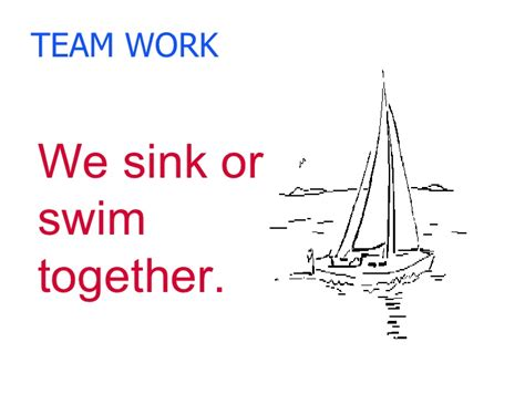 Sink Or Swim Together by Playground And Lunchroom Management For Ta S