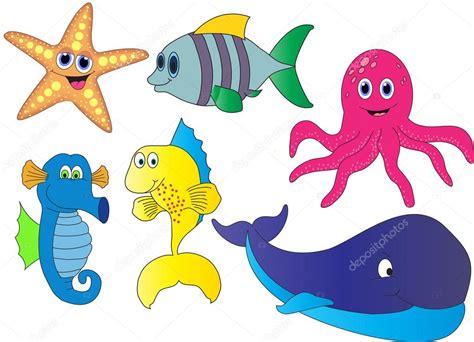 Imagenes Animales Marinos Animados | algunos dibujos animados de animales marinos foto de