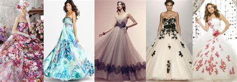 abiti da sposa con fiori colorati abito da sposa colorato 7 alternative tra cui svegliere