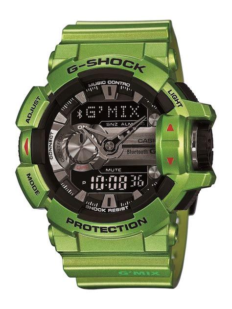 casio g shock g mix une montre pour contr 244 ler la musique