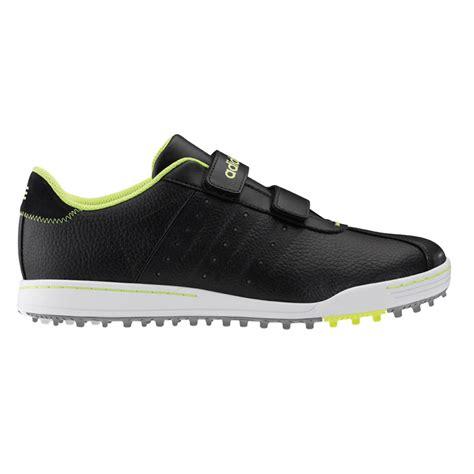 adidas adicross ii r velcro golf shoes mens black silver