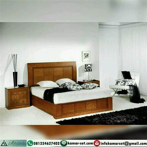 Ranjang Kasur Minimalis ranjang kamar tidur minimalis ai 324 arts indo furniture