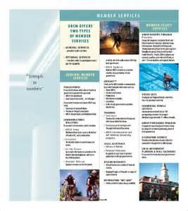 brochure templates pdf 7 blank brochures psd pdf