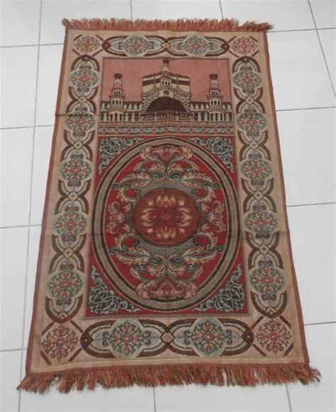 Sajadah Murah Sajadah Benang Prada Oleh Oleh Haji Dan Umrah J954 sajadah sitara untuk souvenir grosir sajadah jual sajadah toko sajadah