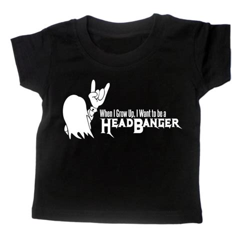 Baby Metal Band 3 T Shirt M baby t shirt headbanger boys rock metal thrash