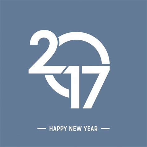 modern new year happy new year 2017 modern background vector free