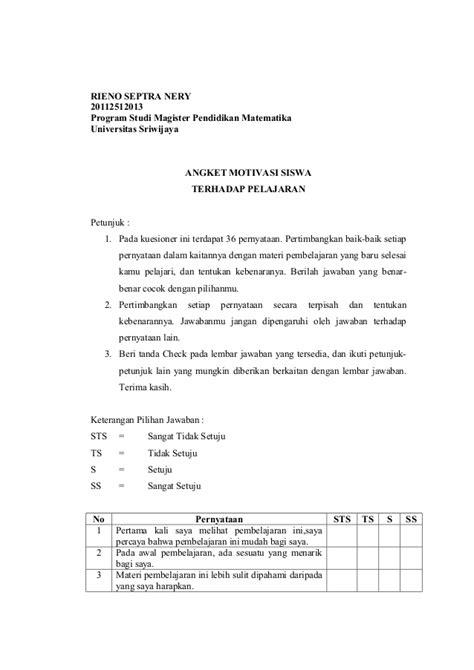 liran 3 angket instrumen penelitian the knownledge