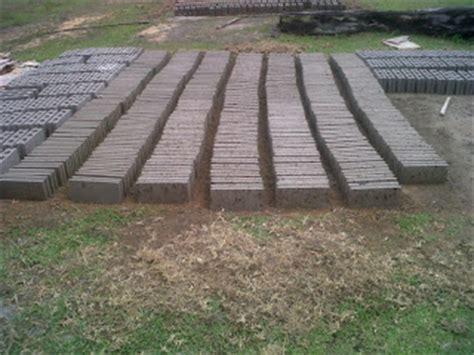 Harga Cetakan Batako Besi analisa usaha pembuatan paving block batako ud aurelia