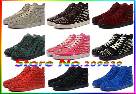 cheap name brand clothes and shoes cheap name brand 2016 spike studded fashion noble casual