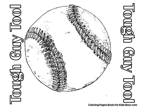 easy softball coloring pages easy sports printables coloring bodybuilder gekimoe 64381