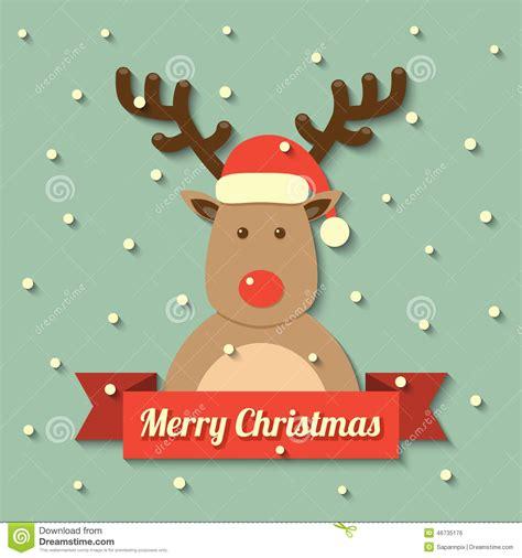 imagenes del reno de santa claus fondo del reno de la navidad ilustraci 243 n del vector
