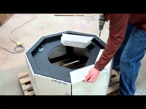 diy how to build a gas pit