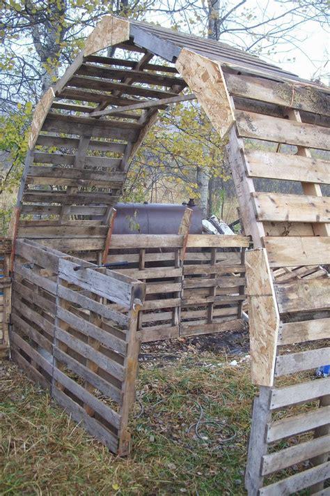forest house farm diy pallet barn