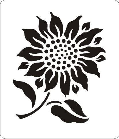sunflower stencil pattern www pixshark com images