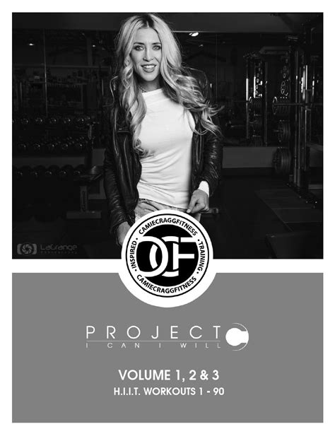 Project C H.I.I.T. Workouts Volumes 1, 2 & 3 - Camie Cragg