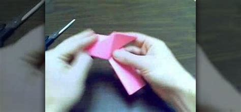 How To Make A Out Of Paper Strips - how to make a cube out of triangular paper strips 171 papercraft