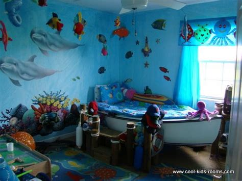 under the sea bedroom ideas vbs 2012 on pinterest clothespins pvc pipes and bed sheets