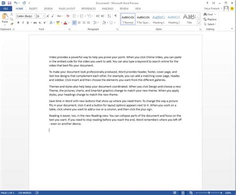 Open Word Documents