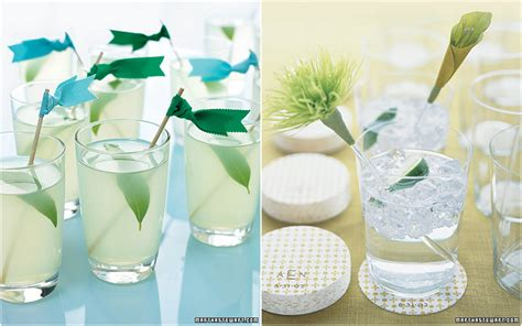 inspired by these fun and fresh wedding drinks inspired