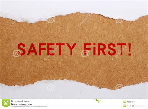 safety first stock image image 35138181 safety first royalty free stock photo cartoondealer com