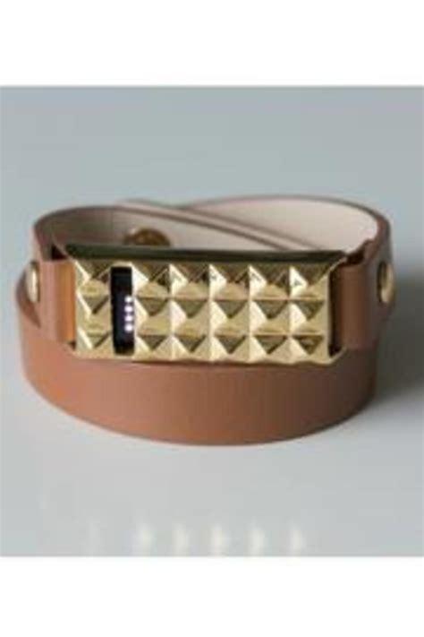 bezels bytes fitbit leather bracelet from new york city