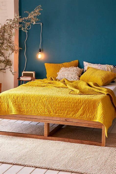 ideas  blue yellow bedrooms  pinterest