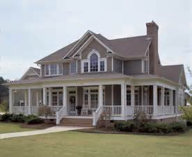 Wrap Around Porch Homes Country Style House Plan 3 Beds 3 Baths 2112 Sq Ft Plan 120 134