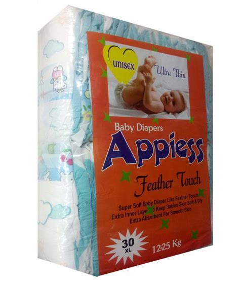 comfort for baby diapers appiess feather baby diaper white comfort size small 3