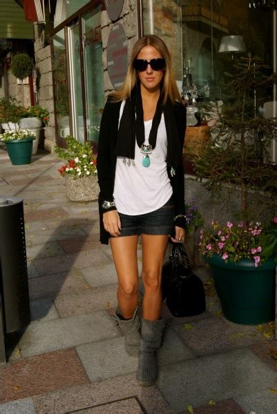 Dress With Cardy with ugg classic cardy with uggs